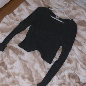 Pacsun tight some what cropped long sleeve